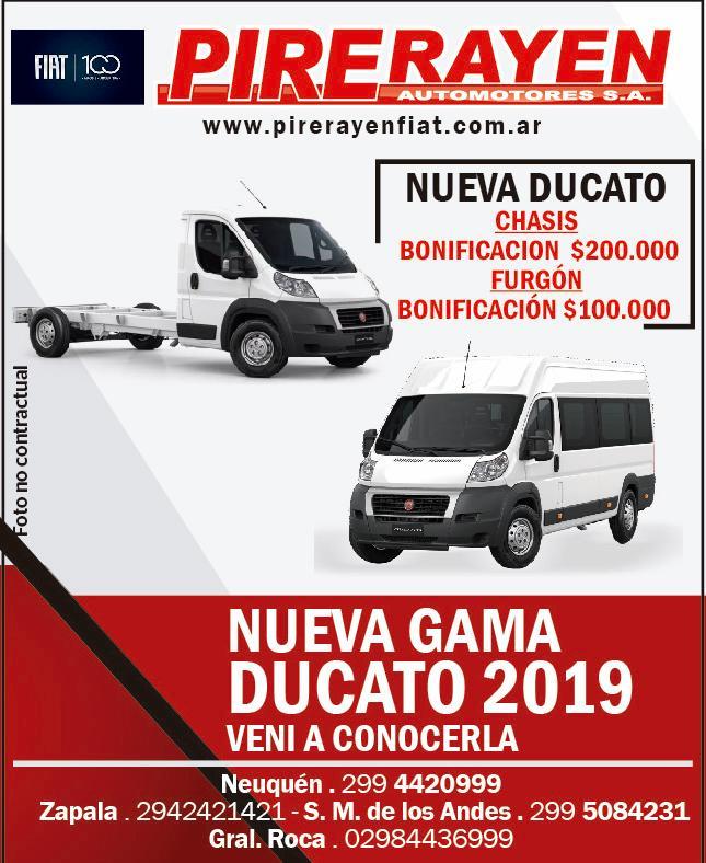 Ducato Pire Rayen 1ra 09-19
